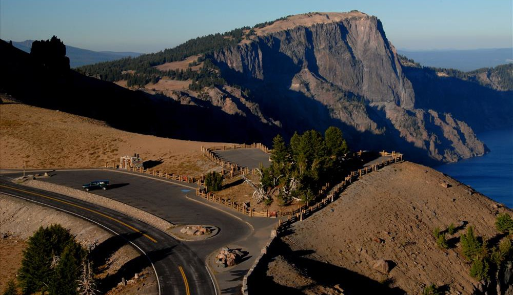 Watchman Overlook in Crater Lake NP, 2009 Dave Harrison 10