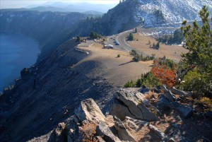 Watchman Overlook in Crater Lake NP, 2009 Dave Harrison 14