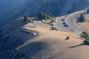 Watchman Overlook in Crater Lake NP, 2009 Dave Harrison 15