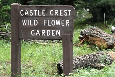 castle-crest-wild-flower-garden-sign