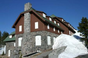 Crater Lake Lodge in spring - NPS Focus