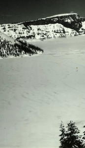 Frozen Crater Lake 1949