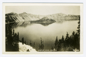 Title (front): Crater Lake, Oregon. Card Number(s): W 996 (front)