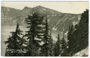 Title (front): Crater Lake, Ore. Card Number(s): 1607 (front) Publisher: Art-Ray.
