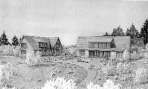 This drawing shows the new look coming to Crater Lake National Park.