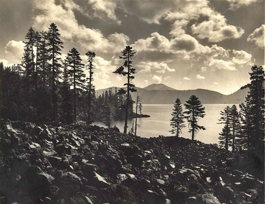 Wizard Island Shore NPS focus (no date)